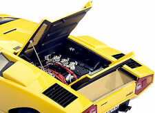 AUTOART 1/18 LAMBORGHINI COUNTACH LP400 1970 YELLOW 74646
