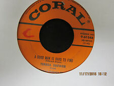 Teresa Brewer: It's Siesta Time & A Good Man iIs Hard to Find - Coral 45RPM