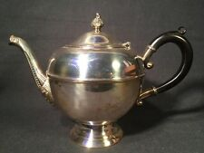 Vintage Silver Plated Teapot With Bakelite Handle Wm. A Roberts (ref W050)