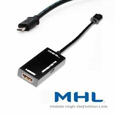 Mhl A Hdmi Tv Out Htc Amaze 4g, Evo 3d, Rezound / el vigor, Z710e / Sensation 4g