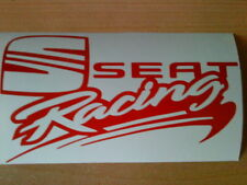 seat racing rally stock car sticker vinyl decal graphics rear window side bumper