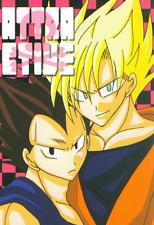 Dragon Ball Dragonball Doujinshi Dojinshi Goku x Vegeta Attractive Dot-Game