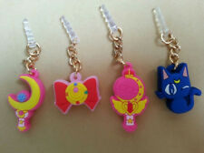 4pcs Sailor Moon 3.5 mm Dust Anti Earphone Jack Plug for iPhone Samsung Galaxy
