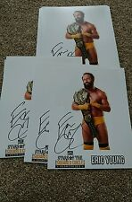 WWE WCW TNA Eric young signed stars in the squared circle promo