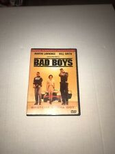 Bad Boys (DVD, 1997) Martin Lawrence, Will Smith DELUXE WIDE SCREEN PRESENTATION