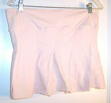 Sz M - NWT Steve & Barry's Stretch Peach Pink Skort