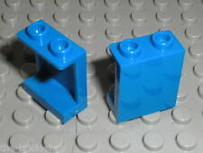 LEGO 2 x blue panel ref 87552 / Set 4439 70317 71006 7848 10233 60097 60110 ...