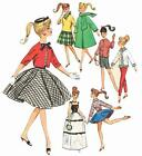 Vintage Doll Clothes PATTERN 4700 for 11.5 in Barbie Midge Gina Babs by Mattel