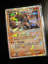 PL Pokemon REGIROCK EX Card HIDDEN LEGENDS Set 98/101 Ultra Rare Holo 100 HP TCG