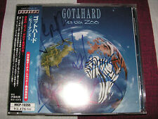 GOTTHARD - Human Zoo + 1 (2003) *JAPAN CD* AUTOGRAPHED!!!!! *MINT*