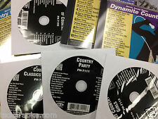 6 Disc Country Party Forever Hits Karaoke CDG ALABAMA Brooks & Dunn TOBY Merle