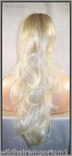 USA Blonde Mix #22.24.613 Drawstring Ponytail clip hair piece extension fall slw