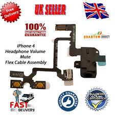 NEW Replacement iPhone 4 4G Headphone Jack Volume & Mute Flex Cable Repair BLACK