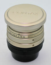 Contax Carl Zeiss Biogon T* 28mm f/2.8 Lens for G G1 G2 c/w Hood and Filter