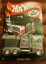 Hot Wheels 2013 THUNDER ROLLER COLLECTOR EDITION NEW