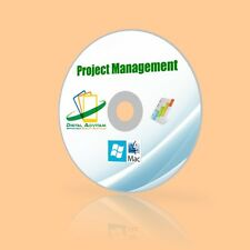 Project Management Suite MS Microsoft 2003 2007 2010 Mac OS Apple Windows 10 8 7