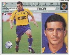 GUILLERMO AMOR # ESPANA VILLARREAL.CF LIGA 2002 ESTE STICKER CROMO