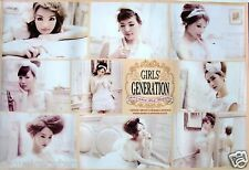 "GIRLS' GENERATION ""JAPAN 1ST ALBUM"" ASIAN POSTER - Sexy Korean K-Pop Girl Group"