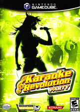 Karaoke Revolution Party  (Nintendo GameCube, 2005)FAST Shipping