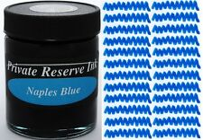 PRIVATE RESERVE - Fountain Pen Ink Bottle - NAPLES BLUE -  66ml - New