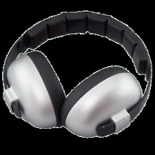 BABY BANZ NEW Silver Ear Muffs Mini Defenders BNWT