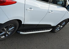 ALUMINIUM RUNNING BOARDS SIDE STEPS SIDE BARS FOR KIA SPORTAGE 2010+