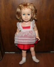 "Vintage Original 1960 Mattel ""CHATTY CATHY"" Doll 20"" & Original Outfit MCMLX"
