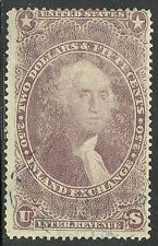 us revenue stamp r84c - $2.50 Inland Exchange issue of 1863 -  #2