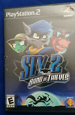 PLAYSTATION 2 PS2 ORIGINAL BLACK LABEL SLY 2: BAND OF THIEVES FUN FREE US SHIP!