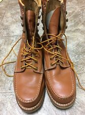 sears boots Vintage 1980 Size 9EE Red Wing Chippewa.