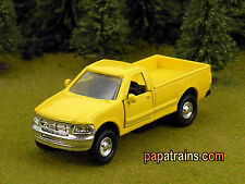 Die Cast Yellow City Pickup based on Ford  O Scale 1:43