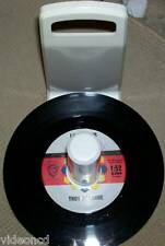 PLASTIC 45 RECORD HOLDER HOLDS APROX. 60-70 45 RECORDS IN & OUT OF SLEEVES RARE