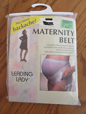 Maternity Belt by Leading Lady Style 1712 White Size Small EUC
