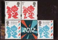 GREAT BRITAIN 2012 LONDON  OLYMPIC GAMES  DEFINITIVES SET OF 4 STAMPS FINE USED
