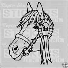 HORSE HEAD 1st Place Decal 155x210mm Captn Skullys Stickers Online MPN 2016