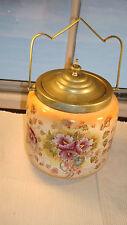 Antique English Biscuit Barrel Jar Lid & Handle - S.F. & Co. - 1920's Vintage