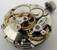 Minerva AS 1180 17 jewels watch movement for parts ...