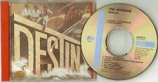 "The Jacksons    ""Destiny""     Rare Austrian 78 CD"