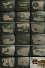 16mm Film 1930-Ozaphan/Kalle-Kintopp-Bobrennen Olympiade 30.J.-Antique animation