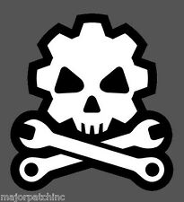 DEATH MECHANIC TACTICAL VINYL DECAL STICKER MILITARY CAR VEHICLE WINDOW