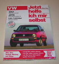 Reparaturanleitung VW Golf II / VW Jetta 1,6 l / 1,8 l - Baujahre 1983 bis 1992!