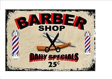 American Vintage Style Barber Shop Sign Barber Retro Style Sign Kitchen Sign