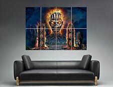 Iron Maiden Wall Art Poster Grand format A0 Large Print