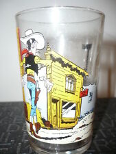 Verre à moutarde Lucky Luke N°3/1972 - vintage glass by Morris