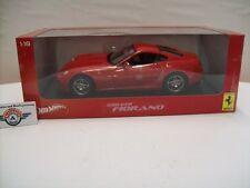 FERRARI 599 GTB Fiorano, rosso, 2006, Hot Wheels 1:18, OVP