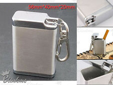 ExportQuality portable metal ashtray stainless steel mini ashtray with key chain