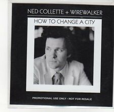 (DL725) Ned Collette & Wirewalker, How To Change A City - 2012 DJ CD