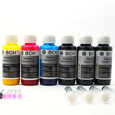 BCH Premium Pigment Refill Ink for HP 8600, 8100, 950 Cartridge - 600 ml (20 oz)