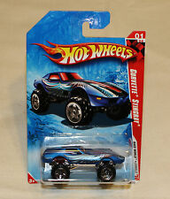 2010 Hot Wheels HW Race World Jungle #211 Corvette Stingray Blue New