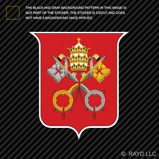 Vatican City Coat of Arms Sticker Decal Self Adhesive Vinyl  flag